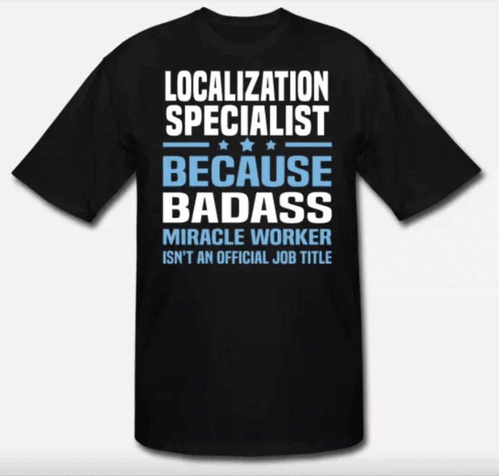 фахівець із локалізації