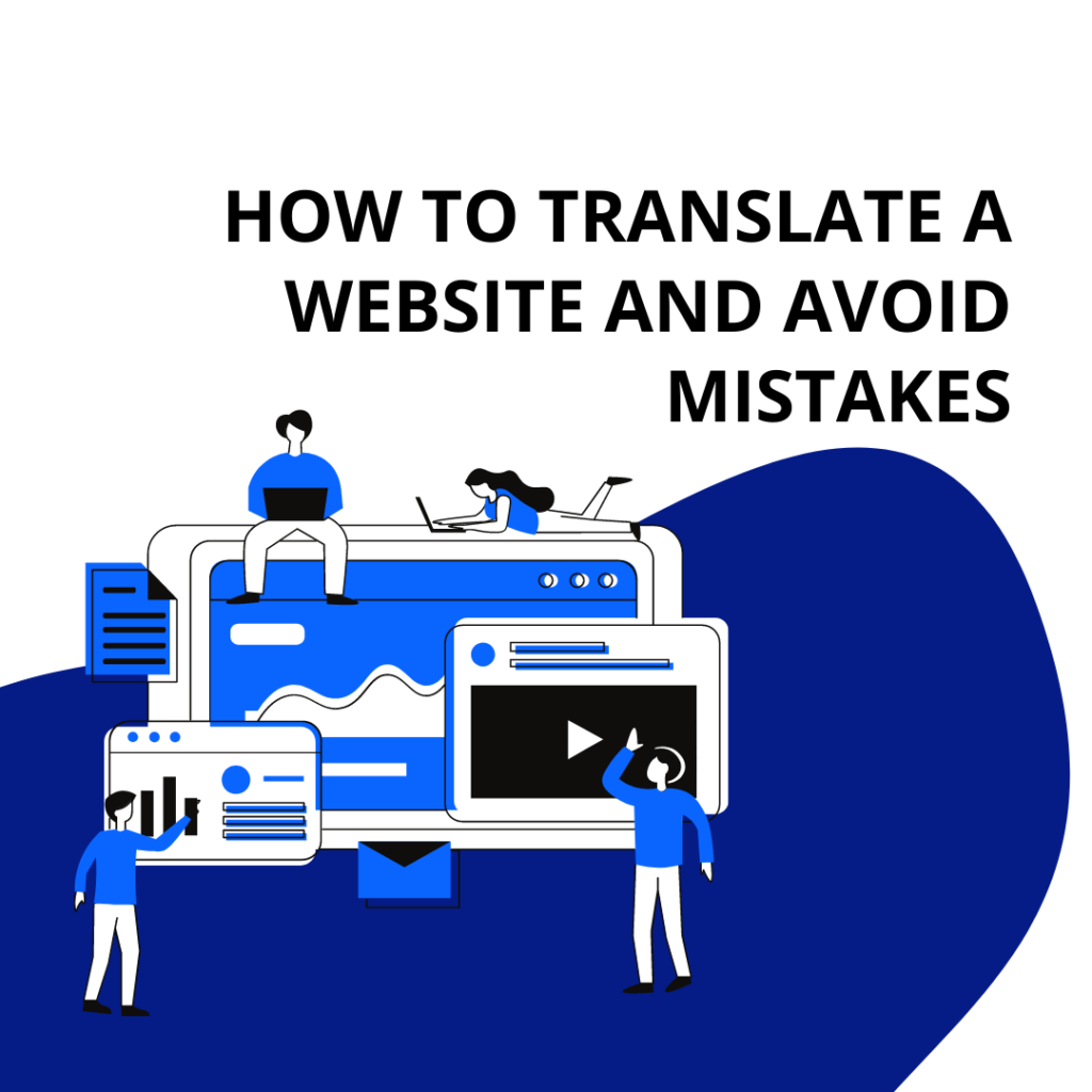 How to translate a website and avoid mistakes